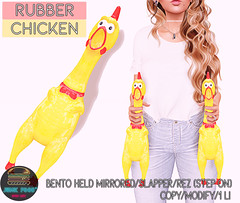 Junk Food - Rubber Chicken Ad