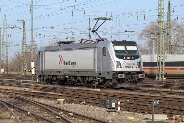 RHC 187 076 Basel Badischer Bahnhof