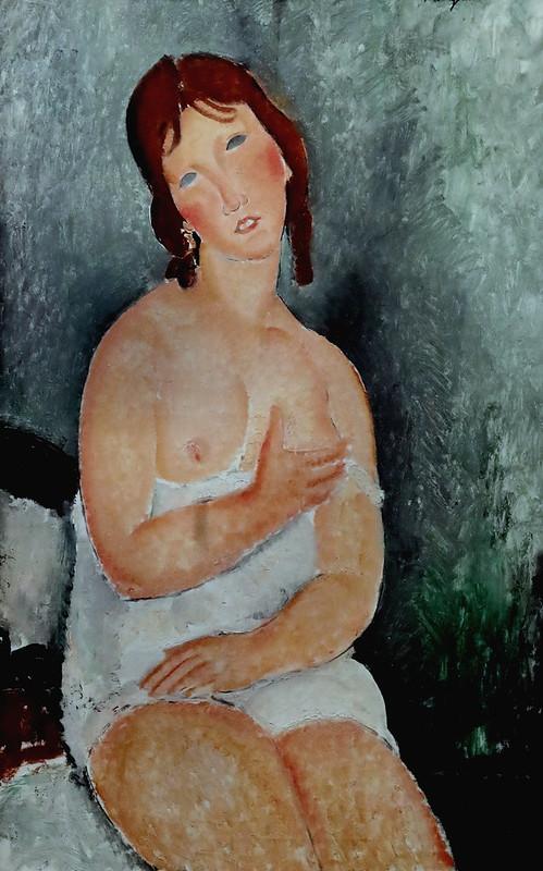 IMG_6555 Amedeo Modigliani 1884-1920  Paris Prostitute  1918 Musée Wien Albertina