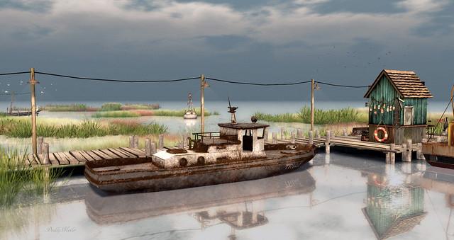 Old Fishing Boat ~ Cherishville