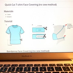 Summer's coming. Do it yourself crop tops are the next fashion trend! Learn how to make a fabulous unisex crop top @CDCgov https://www.cdc.gov/coronavirus/2019-ncov/prevent-getting-sick/diy-cloth-face-coverings.html #diy #facemask #covid19 #croptop #stays