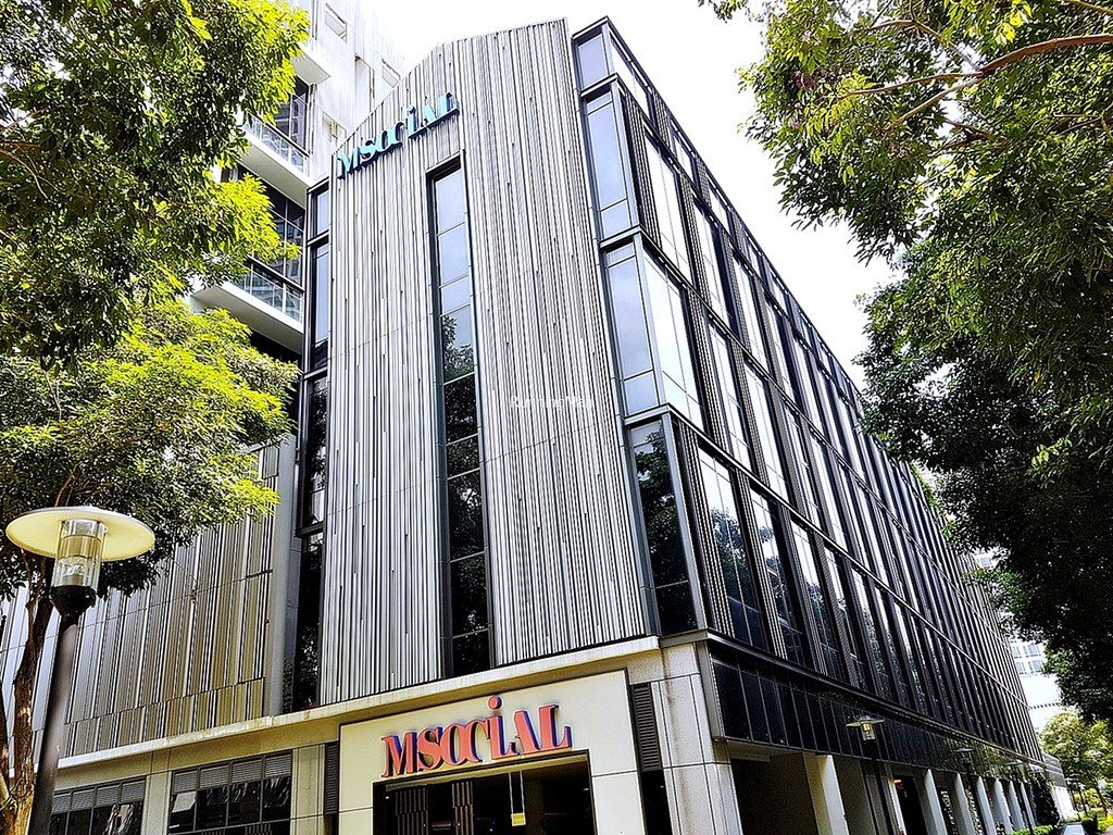 M Social Singapore 01 - Exterior Facade