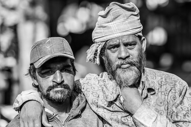 Street Portraits, Bangalore