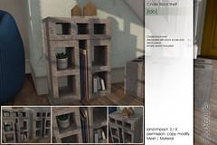 Sway's [Ido] Cinder Block Shelf | SSS