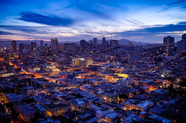 San Francisco Blue Hour