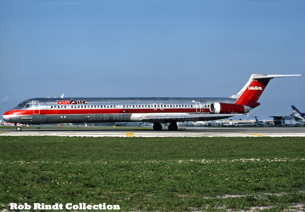 US Air MD-82 N824US