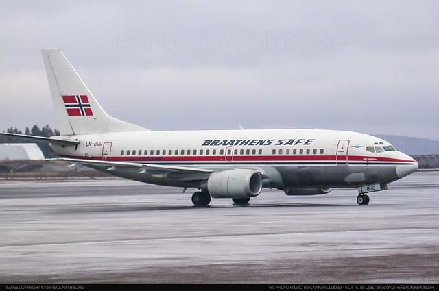 Braathens SAFE, LN-BUD, Boeing 737-500 (25794)