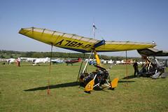 G-WBLY P & M Aviation Pegasus [8057] Popham 060518