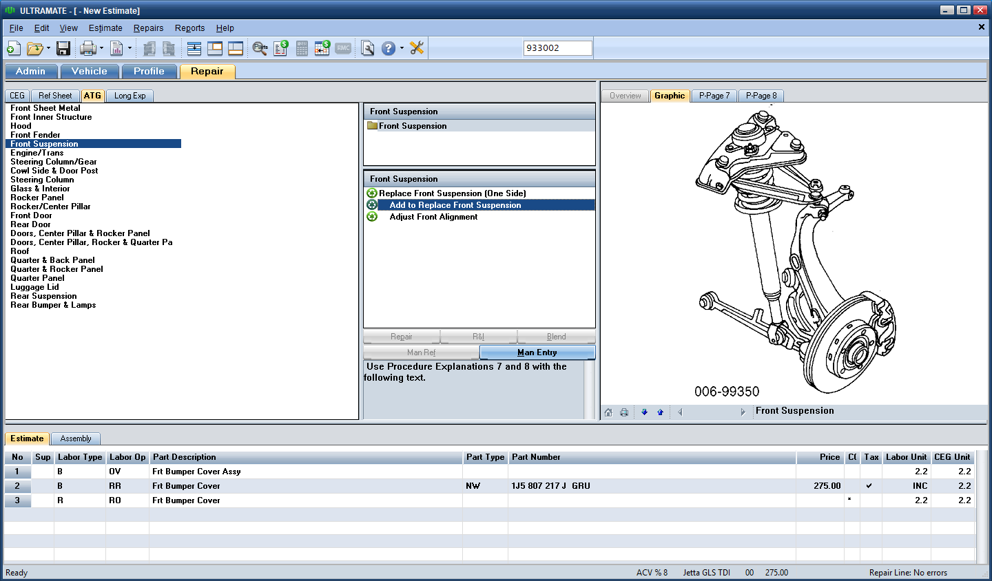 Working with Mitchell Ultramate Estimating 7.1.238 full crack