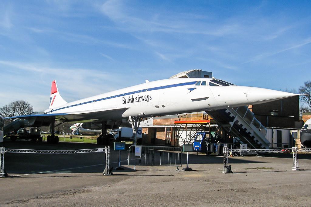 G-BBDG   Aerospatiale/BAe Concorde 100   Brooklands Museum