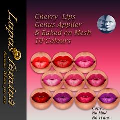 """""""Lupus Femina"""" Cherry Lips - Genus + BOM"""