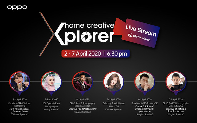 Win OPPO Reno2 and Enco Free in OPPO Home CreativeXplorer Challenge