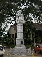 Victoria Clocktower in Seychelles