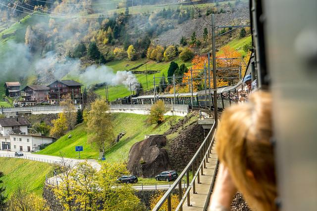 Steam@Gotthard: Around Wassen (1/3)