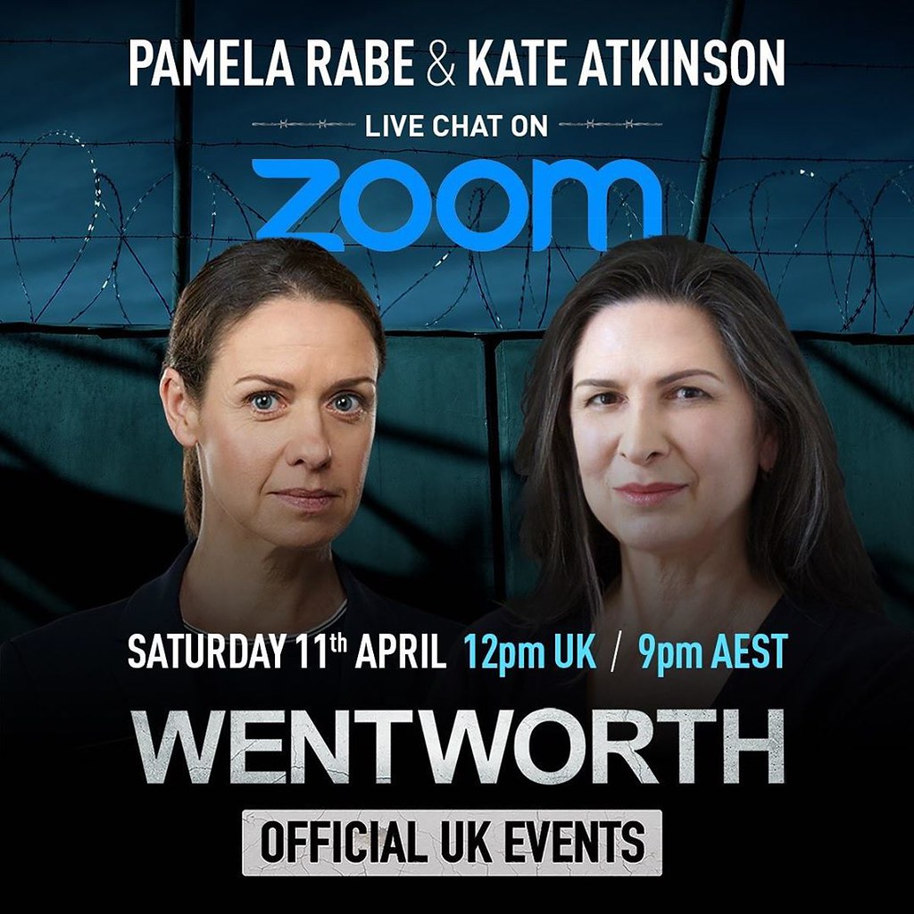 Pamela Rabe and Kate Atkinson SSE Zoom Live Chat April 2020