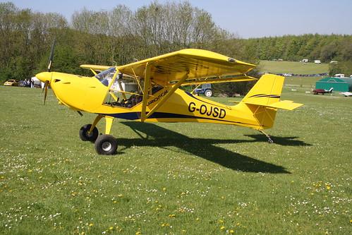 G-OJSD Aeropro Eurofox 2K [LAA 376-15428] Popham 060518