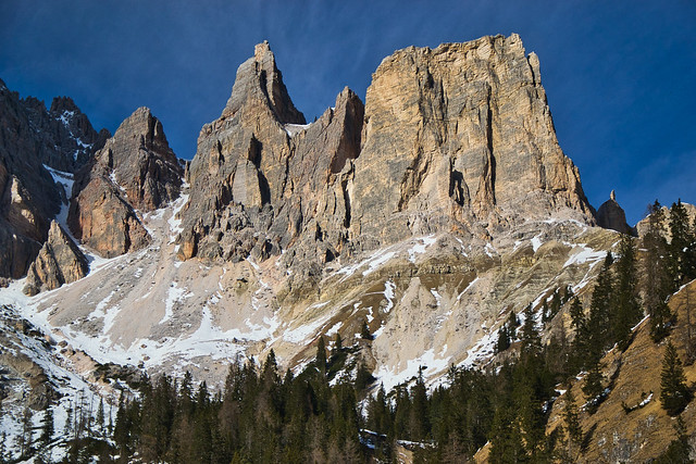 Dolomite towers