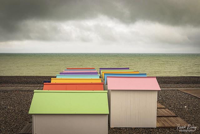 Beach huts - Le Tréport - Normandie