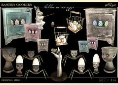 Lilith's Den -Easter Goodies hidden in 6 eggs