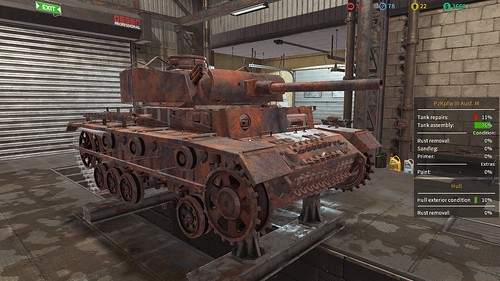 TMS - Panzer III (Late) Renovation