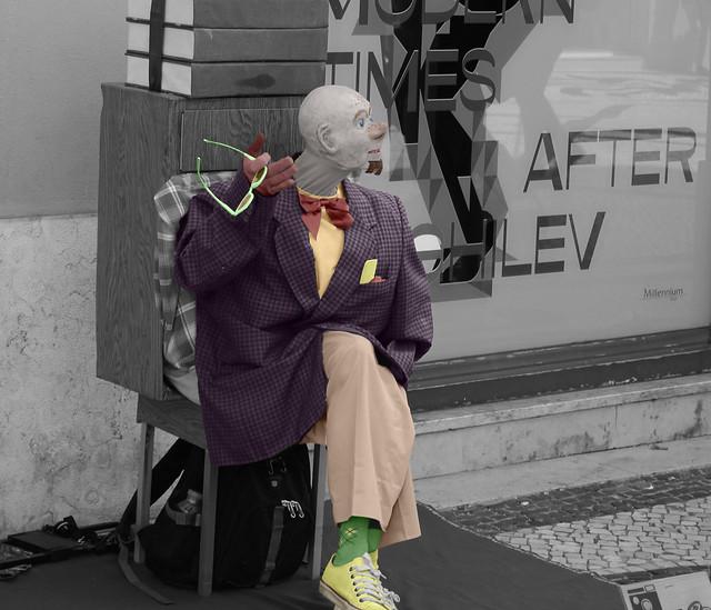 Le dandy-clown