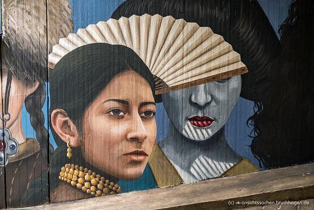 Mural von Licuado in der Bülowstraße