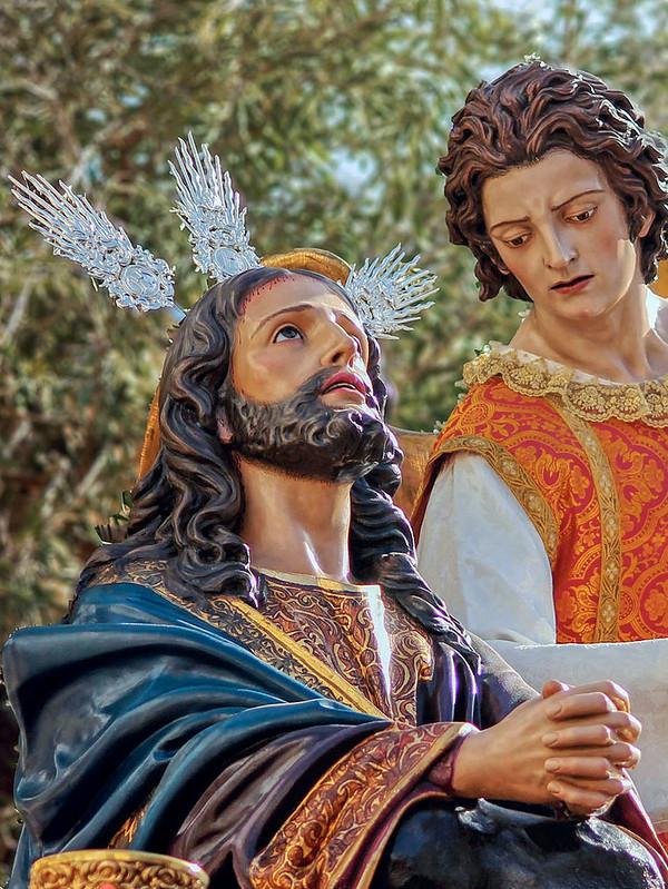 Oración en el Huerto y el Ángel (2019)