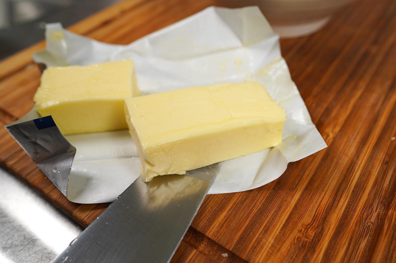 無鹽奶油切片
