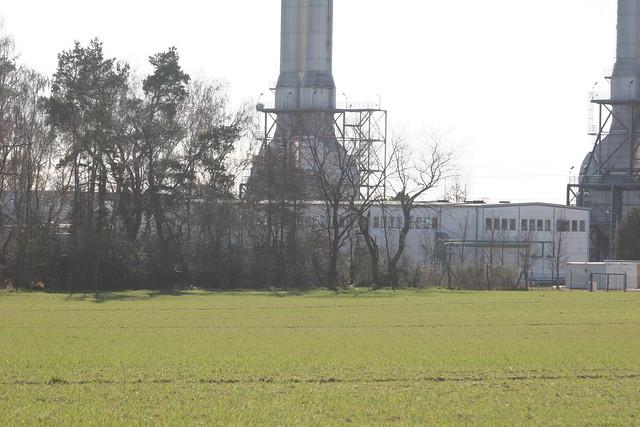 1990/91 Ahrensfelde Werkhalle Gasturbinen-Kraftwerk 4x48MW Lindenberger Straße 32 in 16356