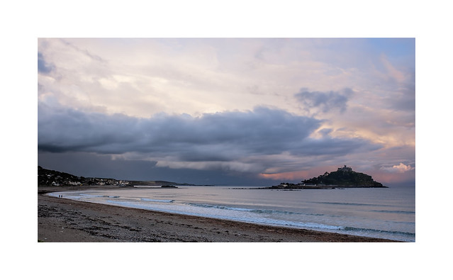 Stormlight over St Michaels Mount Cornwall