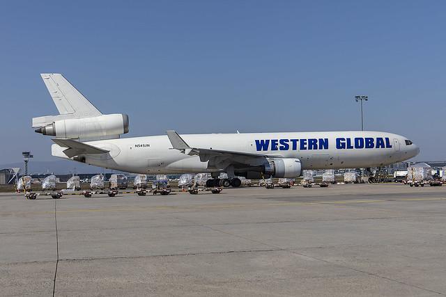 N545JN, McDonnell Douglas MD-11F Western Global @ Frankfurt FRA EDDF