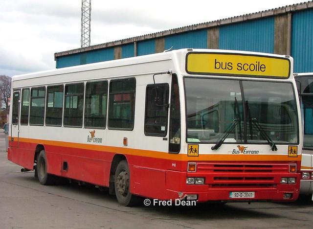 Bus Eireann P40 (93D3040).