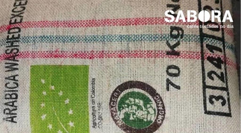 Saco de descafeinado orgánico en Cafés Sabora