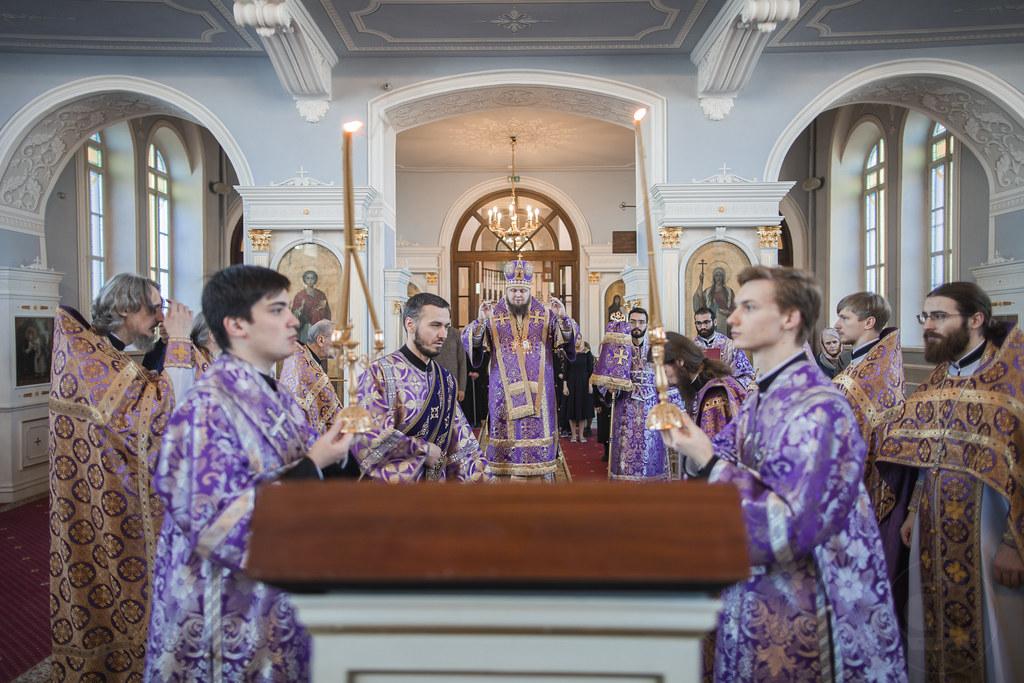 4-5 апреля 2020, Неделя 5-я Великого поста / 4-5 April 2020, Fifth Sunday of Great Lent