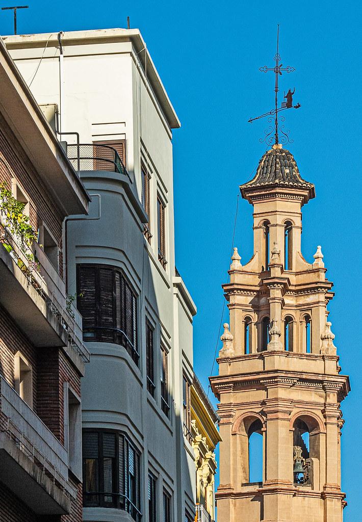 Bell Tower of Iglesia de San Lorenzo ( Valencia) (Olympus OM-D EM5.2 & M.Zuiko 12-100mm F4 Pro Zoom) (1 of 1)