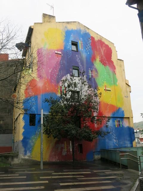Building art in Bilbao