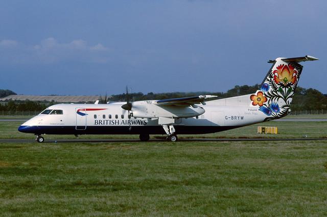 G-BRYW DHC-8-311B EGPH 1999