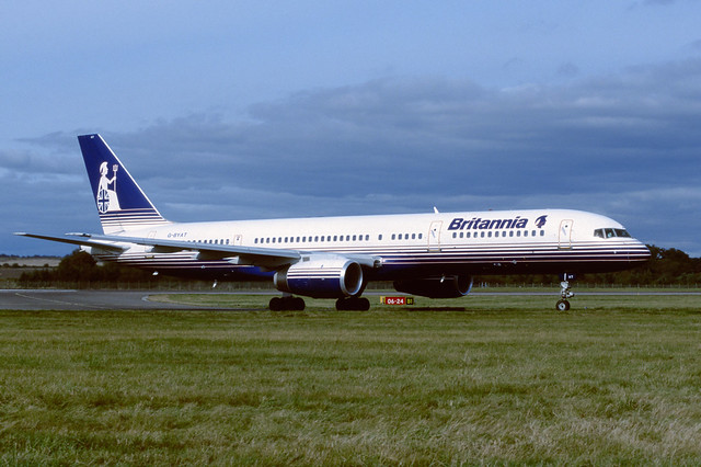 G-BYAT Boeing B757-204 EGPH 1999