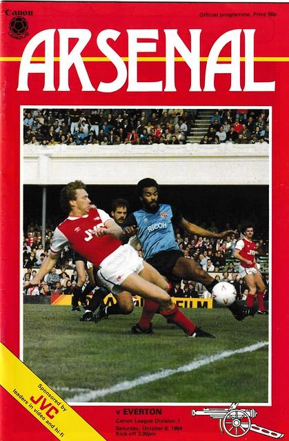 Arsenal v Everton 1984
