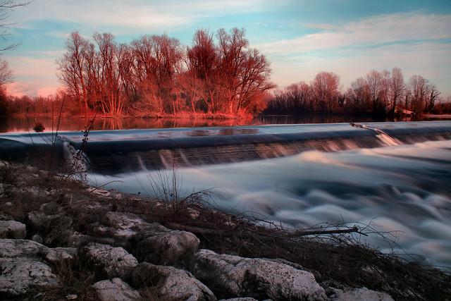 Adda River Falls