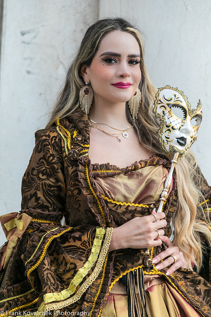 Model(s) at the 2020 Venice Carnevale - 2nd Sunday