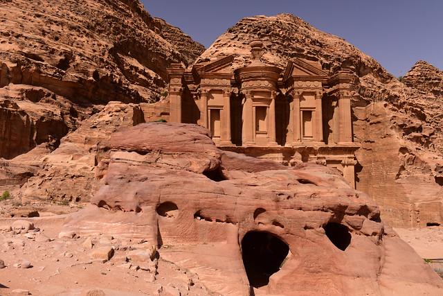 The Monastery, Petra, Jordan, June_2019_051