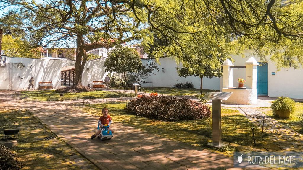 Jardín casa de Tucuman