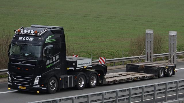NL - Klok forestry transport Volvo FH GL04