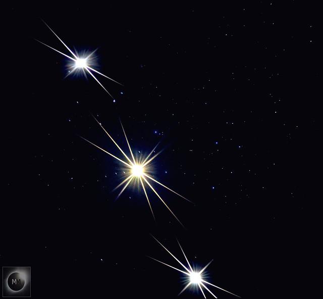 Venus moving through The Pleiades 2nd/3rd & 4th April 2020