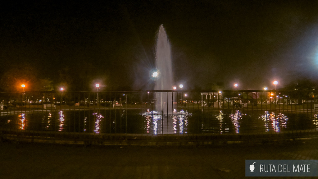 Parque 9 de Julio en San Miguel de Tucuman