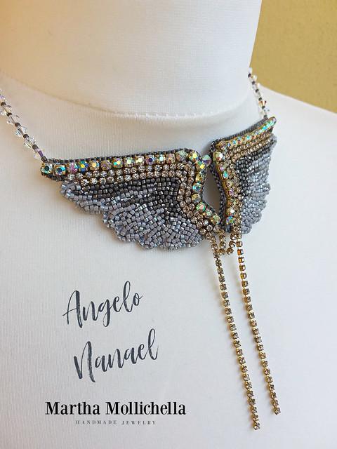 gioielli degli angeli fatti a mano, ogni angelo un nome