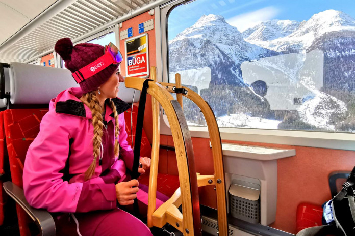 Tipy SNOW tour: Rhétské dráhy – vlakem za zimními zážitky