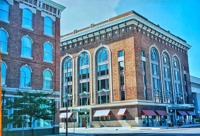 Kalamazoo Michigan - The Kalamazoo Masonic Temple Building  - Historic