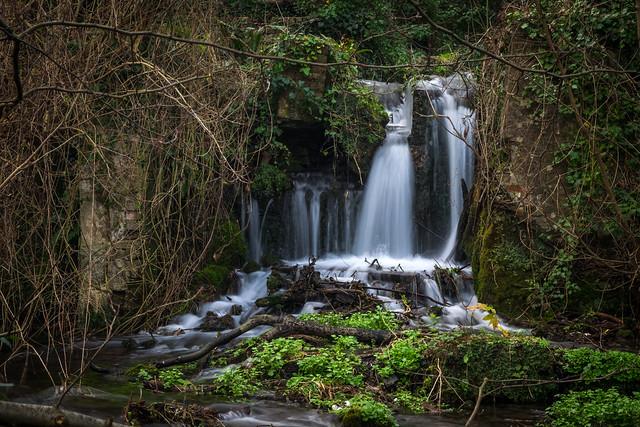 Waterfall, Kearsney Abbey